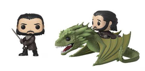 Game of Thrones Funko Pop! Complete Set of 2 Jon Snow (Pre-Order)