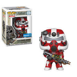 Fallout Funko Pop! T-51 Power Armor (Red) (Pre-Order)