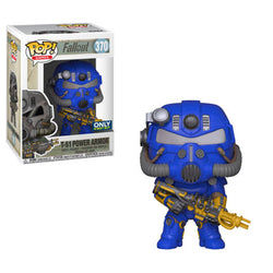 Fallout Funko Pop! T-51 Power Armor (Blue) (Pre-Order)