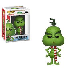 The Grinch Funko Pop! The Grinch (Festive Scarf) #663