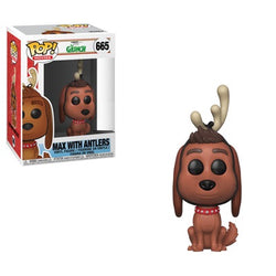 The Grinch Funko Pop! Max with Antlers #665