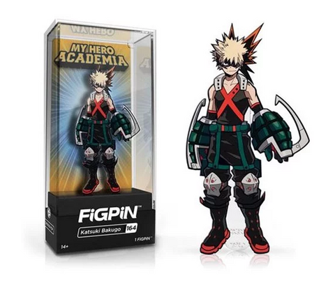 My Hero Academia FiGPiN Katsuki Bakugo Collector Case #164