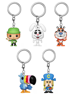 Ad Icons Funko Pop! Keychain Complete Set of 5 (Pre-Order)
