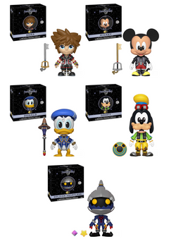 Kingdom Hearts 3 Funko 5 Star Complete Set of 5 (Pre-Order)