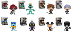 Kingdom Hearts 3 Funko Pop! Complete Set of 8