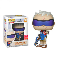 Overwatch Funko Pop! Soldier: 76 (Grillmaster) (Shared Sticker) #346