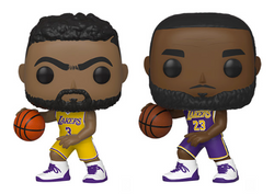 NBA Lakers Funko Pop! Complete Set of 2 (Pre-Order)