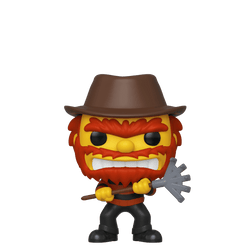 The Simpsons Funko Pop! Groundskeeper Willie (Shared Sticker) #824