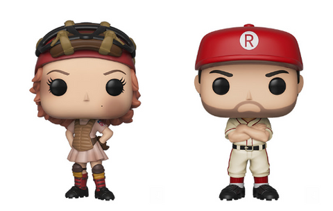 A League of Their Own Funko Pop! Complete Set of 2 (Pre-Order)