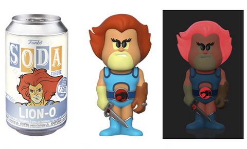 Thundercats Funko Vinyl SODA Lion-O (Chance of Chase)