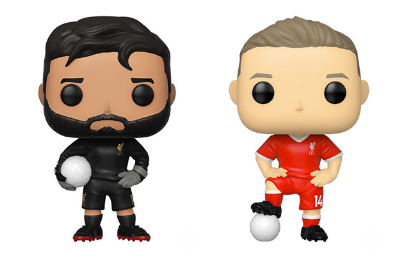 Liverpool Funko Pop! Complete Set of 2 (Pre-Order)