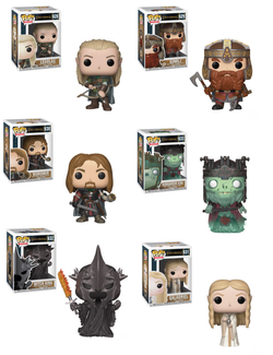 Lord of the RIngs Funko Pop! Complete Set of 6 (Pre-Order)