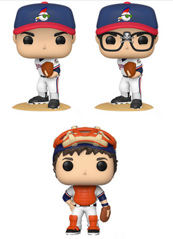 Major League Funko Pop! Complete Set of 3 CHASE Included (Pre-Order)