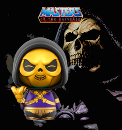 Masters of the Universe Funko DORBZ Skeletor (Metallic) #242