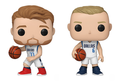 NBA Mavericks Funko Pop! Complete Set of 2 (Pre-Order)