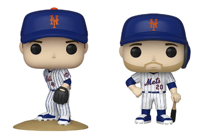 MLB Mets Funko Pop! Complete Set of 2 (Pre-Order)