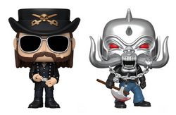 Motorhead Funko Pop! Complete Set of 2 (Pre-Order)