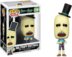 Rick and Morty Funko Pop! Mr. Poopy Butthole (Gunshot Wound)