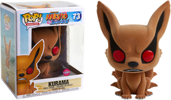 Naruto Funko Pop! Kurama (Flocked) 6in #73
