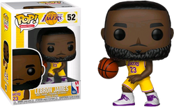 NBA Lakers Funko Pop! Lebron James (Yellow Jersey) #52