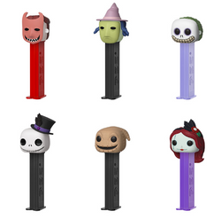 Nightmare Before Christmas Funko Pop! PEZ Complete Set of 6 (Pre-Order)
