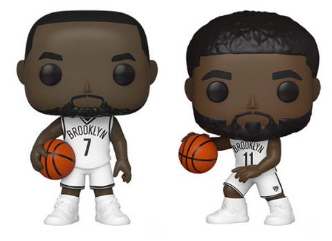 NBA Nets Funko Pop! Complete Set of 2 (Pre-Order)