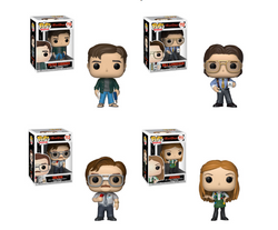 Office Space Funko Pop! Complete Set of 4