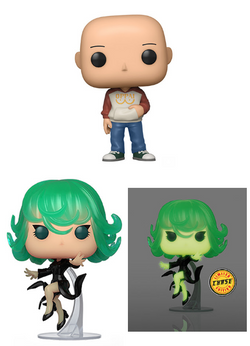 One Punch Man Funko Pop! Complete Set of 3 CHASE Included (Pre-Order)