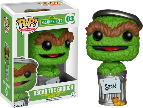 Sesame Street Funko Pop! Oscar the Grouch