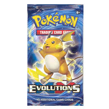 Pokemon XY - Evolutions - Single Pack
