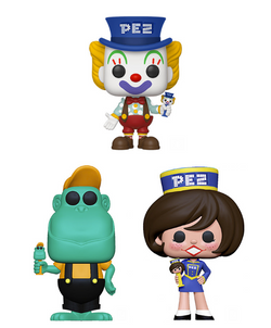 Pez Funko Pop! Complete Set of 3 (Pre-Order)
