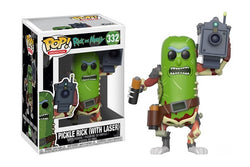 Rick and Morty Funko Pop! Pickle Rick with Laser #332