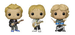 The Police Funko Pop! Complete Set of 3 (Pre-Order)