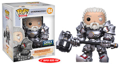 Overwatch Funko Pop! Reinhardt (Unmasked) 6in #184