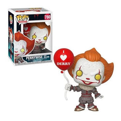 IT Chapter 2 Funko Pop! Pennywise (with Derry Balloon) #780