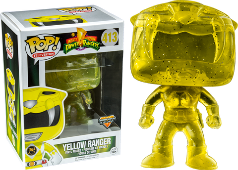 Power Rangers Funko Pop! Yellow Ranger (Phasing) #413