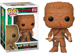 "Predator Funko Pop! Alan ""Dutch"" Schaefer (in Mud) #912 (Pre-Order)"