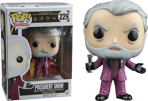 The Hunger Games Funko Pop! President Snow #229
