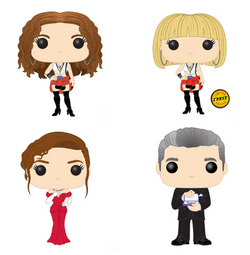 Pretty Woman Funko Pop! Complete Set of 4 CHASE Included (Pre-Order)