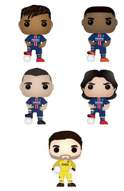 Paris Saint-Germain Funko Pop! Complete Set of 5 (Pre-Order)