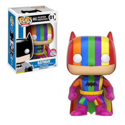 DC Super Heroes Funko Pop! Batman (Rainbow) #01