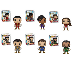 Shazam Funko Pop! Complete Set of 6 (Pre-Order)