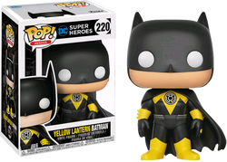 DC Super Heroes Funko Pop! Yellow Lantern Batman #220
