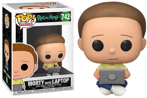 Rick and Morty Funko Pop! Morty (with Laptop) #742 (Pre-Order)