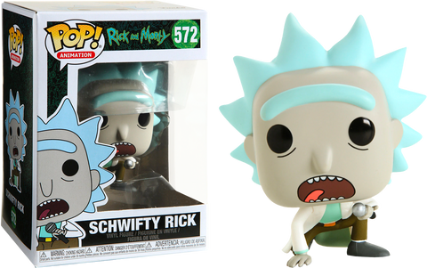 Rick and Morty Funko Pop! Get Schwifty Rick #572