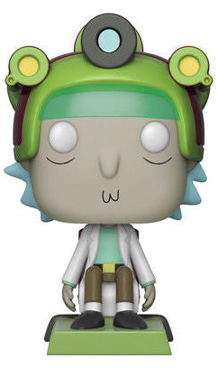 Rick and Morty Funko Pop! Rick (Blips and Chitz)