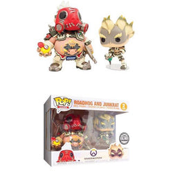 Overwatch Funko Pop! Roadhog & Junkrat 6in (2-Pack)