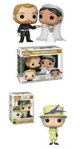 British Royals Funko Pop! Complete Set of 2 Wave 2 (Two Pack Included) (Pre-Order)