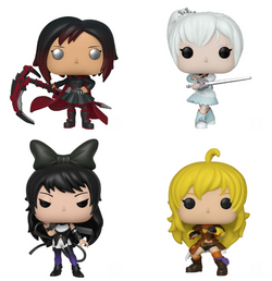 RWBY Funko Pop! Complete Set of 4 (Pre-Order)