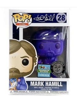 Icons Funko Pop! Mark Hamill (Purple Chrome) #28